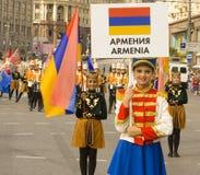 Москва, фестиваль Стоковая Фотография RF