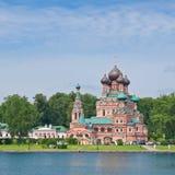 Москва, церковь в Ostankino. Россия Стоковое фото RF