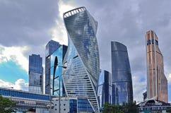 Москв-город стоковая фотография
