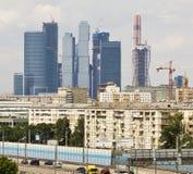 Москв-город Стоковое Фото