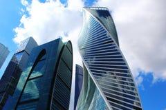 Москв-город Стоковая Фотография RF