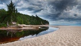 москит пляжа Стоковое фото RF