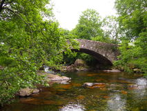 Моста доктора, района Великобритании озера Стоковое Фото