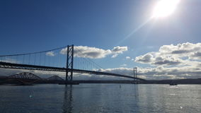 моста дорога вперед Стоковое Изображение