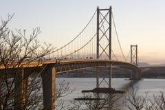 моста edinburgh дорога Шотландия вперед Стоковые Фотографии RF