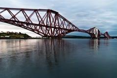 моста railway вперед Стоковая Фотография