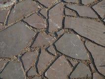 Мостить каменную мостоваую предпосылки, тротуар стоковое фото rf