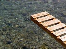 Мостк над морем Стоковые Изображения