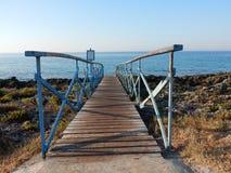 Мостк пляжа Стоковые Изображения RF