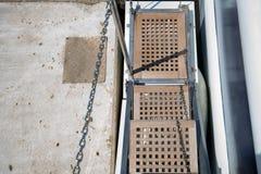 Мостк туристического судна металла Стоковое Фото