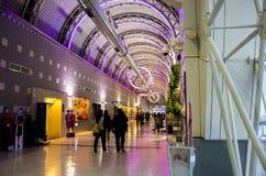 Мостоваая международного аэропорта Kaohsiung Стоковые Изображения