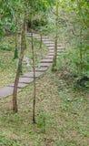 Мостоваая тротуара леса каменная Стоковая Фотография RF