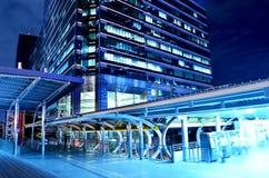 Мостовое соединение неба к станции быстрого перехода Бангкока, Бангкок, Стоковые Изображения