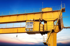 Мостовой кран Стоковое Изображение RF