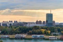 Мосты Белграда Стоковая Фотография