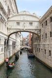 Мосты в Венеции Италии Стоковое Изображение RF