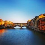 Мосты в Firenze Стоковое Изображение