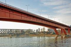 Мосты города стоковая фотография