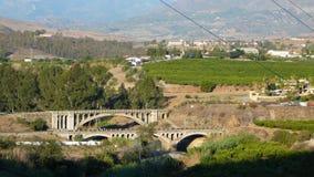 Мосты дороги и рельса Стоковое Изображение RF