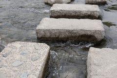 Мосты камня на воде Стоковые Фотографии RF