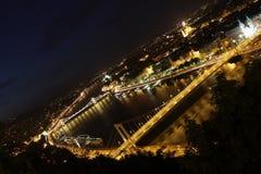 мосты над рекой Стоковые Фотографии RF