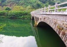 Мосты традиционного китайския стоковое фото rf