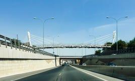 Мосты через дорогу стоковая фотография rf