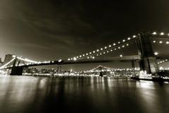 Мосты East River Стоковые Изображения RF