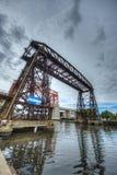 Мост Авельянеды в Буэносе-Айрес, Аргентине Стоковые Фото
