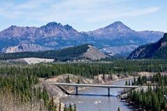 мост Аляски Стоковые Изображения