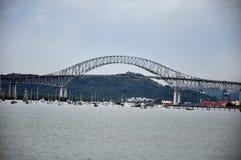 Мост Америк, Панамы Стоковое Фото
