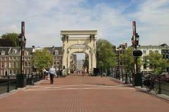 Мост Амстердам Стоковые Фотографии RF