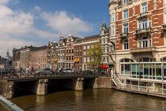 Мост Амстердама Стоковое Изображение RF