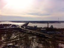 Мост Амура стоковая фотография rf
