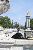 Мост Александра III Стоковые Фотографии RF