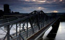 Мост Александрии Стоковая Фотография RF