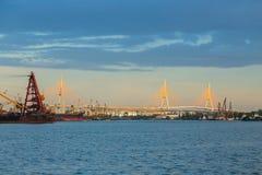 Мост Бангкока Стоковая Фотография