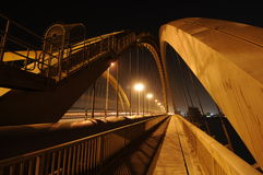мост Бахрейна Стоковые Изображения
