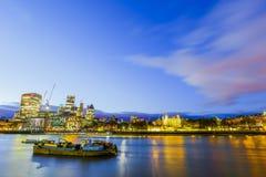 Мост башни в городе Лондона Англии Лондона Стоковое фото RF