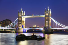 Мост башни в Лондон стоковое изображение rf