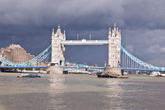 Мост башни в Лондоне, Англии, Великобритании Стоковое Фото