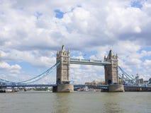 Мост башни в Лондоне, Великобритании, Великобритании Стоковое Изображение RF