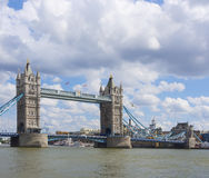 Мост башни в Лондоне, Великобритании, Великобритании Стоковые Фото
