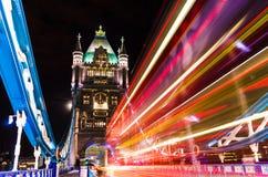 Мост башни в Лондон, Великобритании Стоковые Изображения