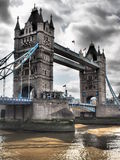 Мост 2016 БАШНИ Лондона стоковое фото rf