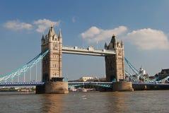 Мост башни над рекой Темзой в Лондоне Стоковая Фотография RF