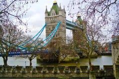 Мост башни от окна стоковая фотография