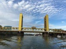 Мост башни Сакраменто Стоковые Изображения