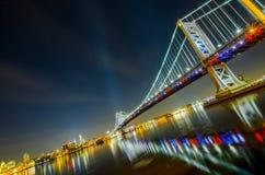Мост #4 Бенджамина Франклина Стоковые Фотографии RF