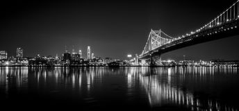 Мост #5 Бенджамина Франклина Стоковое фото RF